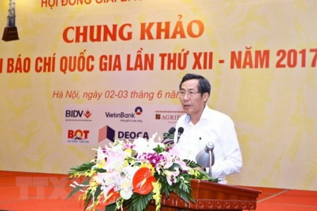 Otorgan premios de Prensa de Vietnam 2017 - ảnh 1