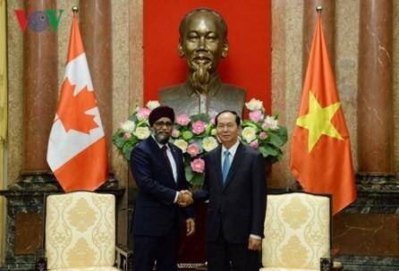 Vietnam y Canadá fortalecen relaciones - ảnh 1