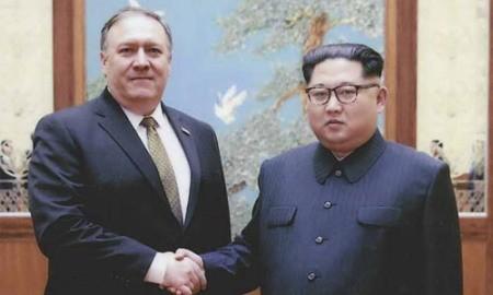 Mike Pompeo: Kim Jong-un me aseguró personalmente que desnuclearizará la península coreana - ảnh 1