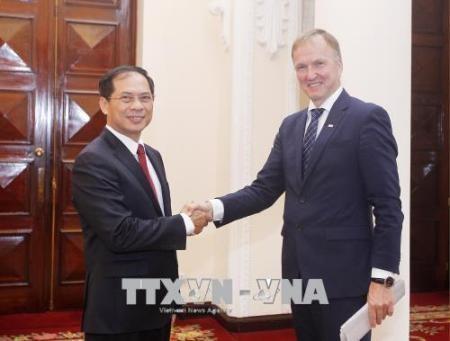Vietnam y Letonia realizan una consulta política  - ảnh 1