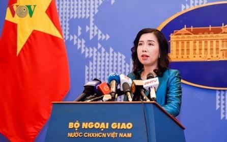 Vietnam rechaza las actividades militares chinas en la isla de Phu Lam - ảnh 1