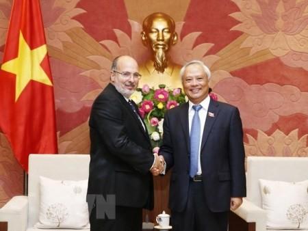 Vicepresidente del Parlamento vietnamita enfatiza la amistad tradicional con Cuba - ảnh 1