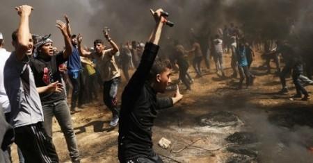 Israel toma represalia contra proyectiles disparados desde Gaza - ảnh 1