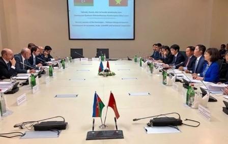 Realizan segunda Reunión del Comité Intergubernamental Vietnam-Azerbaiyán - ảnh 1