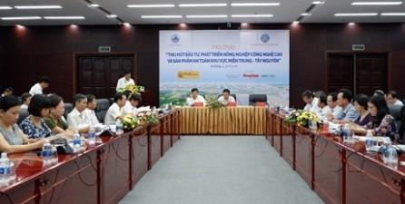 Llaman a desarrollar la agricultura de alta tecnología en región central y la Meseta Occidental  - ảnh 1