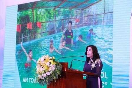 Lanzan programa de prevención de ahogamiento infantil en Vietnam - ảnh 1