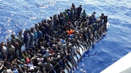 España rescata a 616 migrantes  - ảnh 1