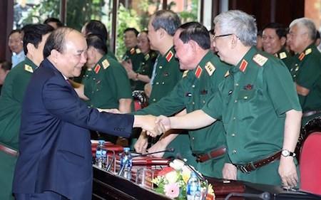 Piden optimizar la fuerza combativa del Ejército Popular de Vietnam - ảnh 1