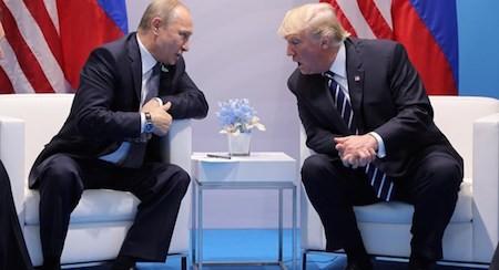 Trump y Putin se reunirán en Helsinki - ảnh 1