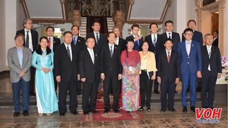 Ciudad Ho Chi Minh y la prefectura japonesa de Fukuoka fortalecen vínculos - ảnh 1