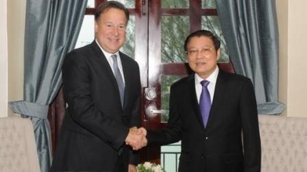 Vietnam aboga por impulsar una cooperación multifacética con Panamá - ảnh 1