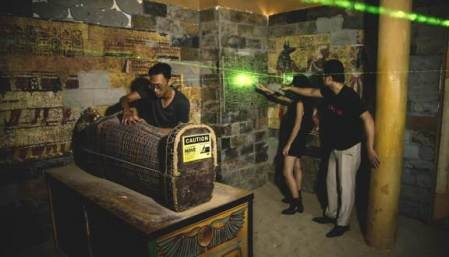 Escape Room, nuevo modelo de juego en Hanói - ảnh 2
