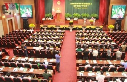 Inauguran décimo quinta Reunión del Consejo Popular de la ciudad de Hai Phong - ảnh 1