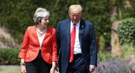 Reino Unido y Estados Unidos buscan un acuerdo de libre comercio - ảnh 1
