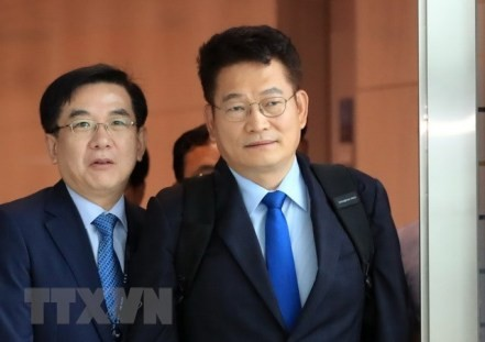 Las dos Coreas negocian proyectos de cooperación con Rusia  - ảnh 1