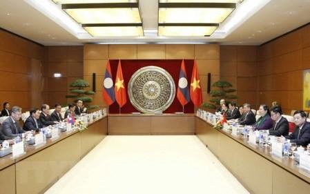 Vietnam y Laos estrechan relaciones parlamentarias - ảnh 1
