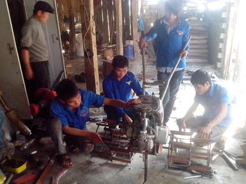 Promueven el espíritu voluntario en las zonas remotas  - ảnh 1