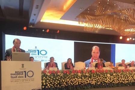 Comienza el décimo Diálogo de Delhi - ảnh 1