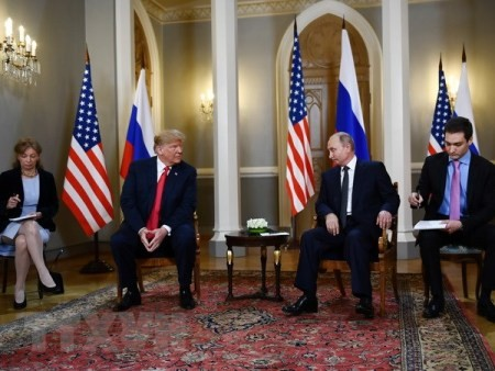 Trump espera la próxima reunión con Putin - ảnh 1
