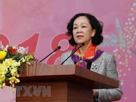 Aumenta el liderazgo del Partido Comunista de Vietnam sobre los trabajos de movilización de masas - ảnh 1
