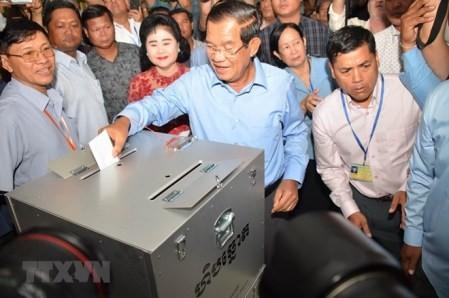 Vietnam felicita a Camboya por las elecciones exitosas - ảnh 1