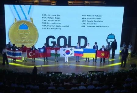 Vietnam logra éxito en concursos internacionales de Física y Química - ảnh 1