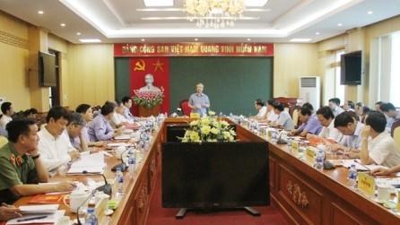 Piden a Thai Nguyen fortalecer la construcción del Partido - ảnh 1