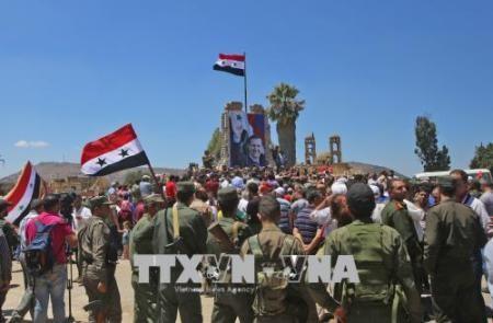 Soldados sirios liberan varias provincias sureñas  - ảnh 1