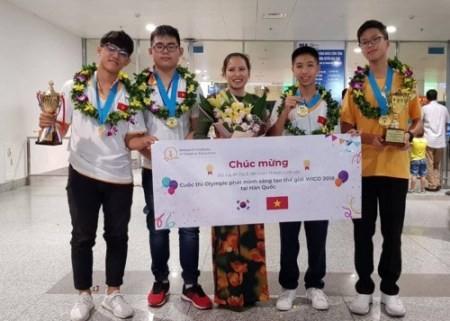 Vietnam triunfa en Olimpiada Mundial de Invención y Creatividad 2018 - ảnh 1