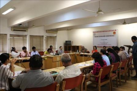 Resalta el papel de los jóvenes académicos en las relaciones Vietnam-India - ảnh 1