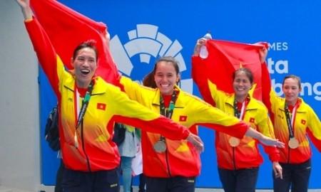 Vietnam se embolsa su primera medalla de oro en los Juegos Asiáticos 2018 - ảnh 1