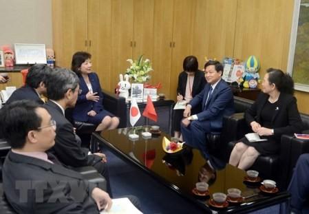 La delegación de la Inspección del Gobierno de Vietnam visita Japón - ảnh 1