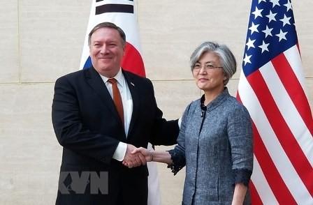 Corea del Sur exige más esfuerzos estadounidenses en la desnuclearización coreana - ảnh 1