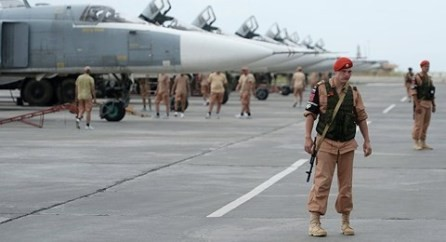 Aviones de combate rusos atacan a militantes del Frente Nusra en, Siria - ảnh 1