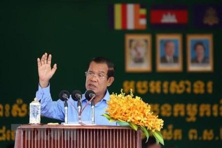 Hun Sen presta juramento como primer ministro de Camboya - ảnh 1