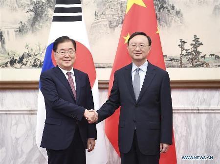 Altos funcionarios de China y Corea del Sur se reúnen en Beijing - ảnh 1