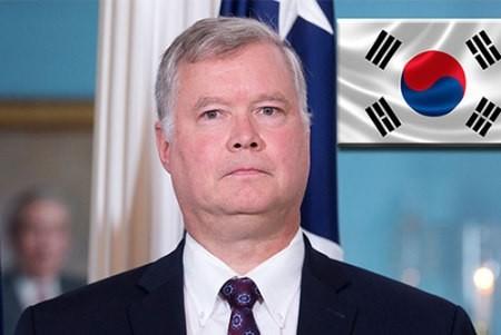 En Corea del Sur el nuevo enviado especial estadounidense para Corea del Norte - ảnh 1