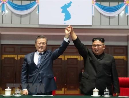Pyongyang listo para la desnuclearización, dice el presidente de Corea del Sur - ảnh 1