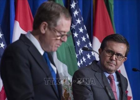 Estados Unidos y México dispuestos a firmar el TLCAN sin Canadá - ảnh 1