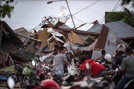 Indonesia no declara estado de desastre nacional después del doble desastres naturales  - ảnh 1