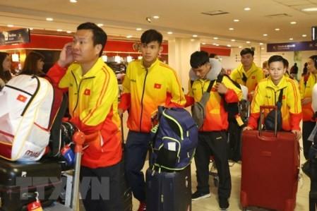 Delegación vietnamita llega a Argentina para los Juegos Olímpicos de la Juventud de Verano  - ảnh 1