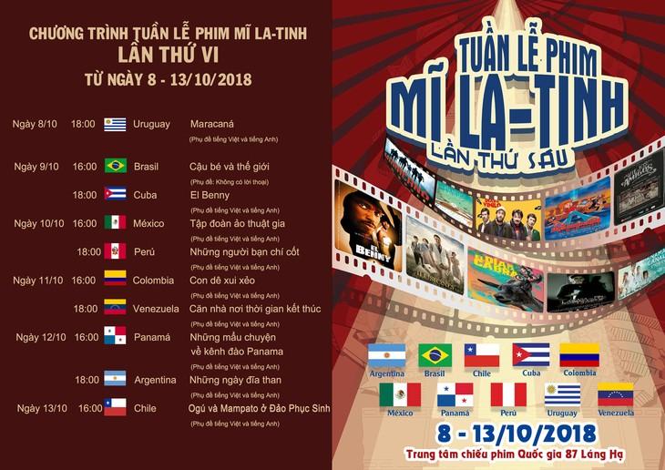 Rueda de prensa sobre el sexto Festival de Cine Latinoamericano en Hanói - ảnh 1