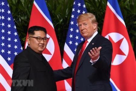 Líderes de las dos Coreas se muestran optimistas sobre la segunda cumbre Kim-Trump - ảnh 1