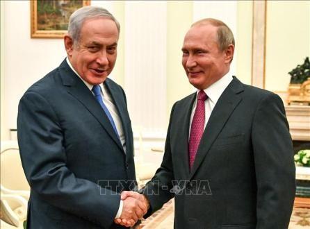 Líderes de Israel y Rusia acuerdan reunirse  - ảnh 1
