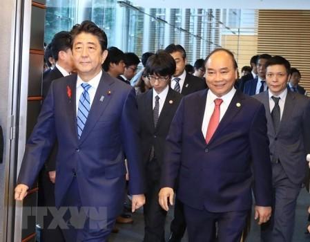 Premier de Vietnam termina exitosamente su visita a Japón  - ảnh 1