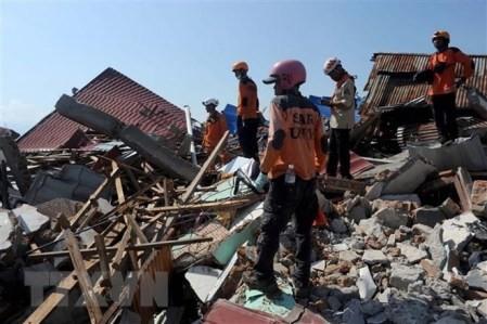 Indonesia: Se eleva el número de muertos por el doble desatre natural  - ảnh 1