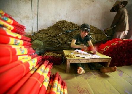 La belleza de las trabajadoras vietnamitas  - ảnh 2