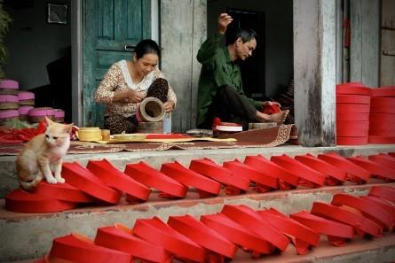 La belleza de las trabajadoras vietnamitas  - ảnh 3