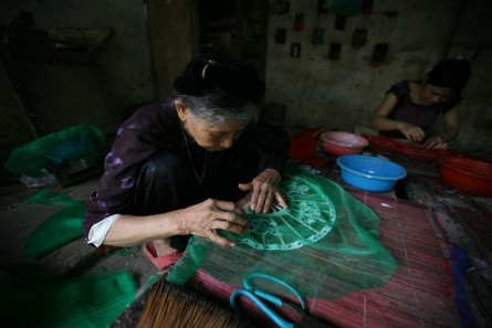 La belleza de las trabajadoras vietnamitas  - ảnh 7