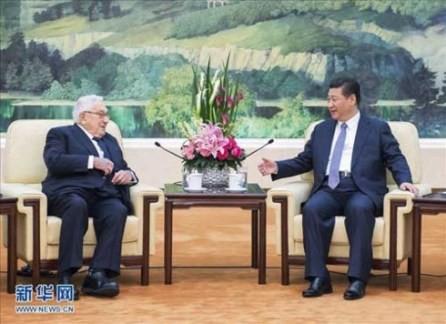 Presidente de China recibe a ex diplomático estadounidense  - ảnh 1